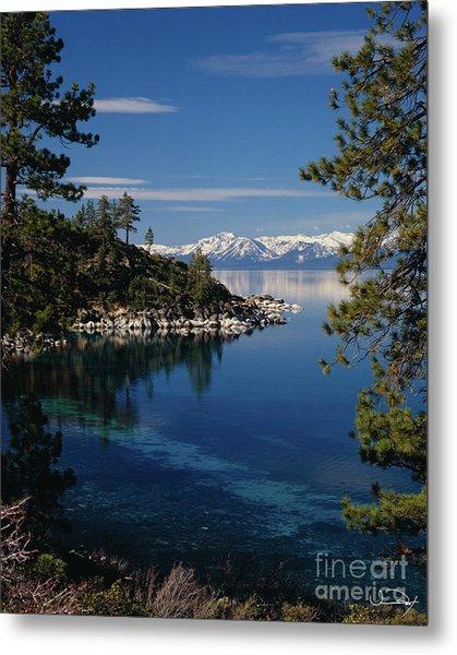 Lake Tahoe Smooth Metal Print