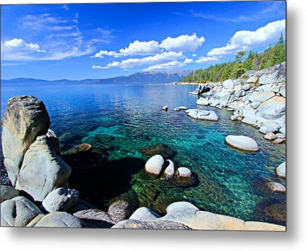 Lake Tahoe Summer Treasure Metal Print