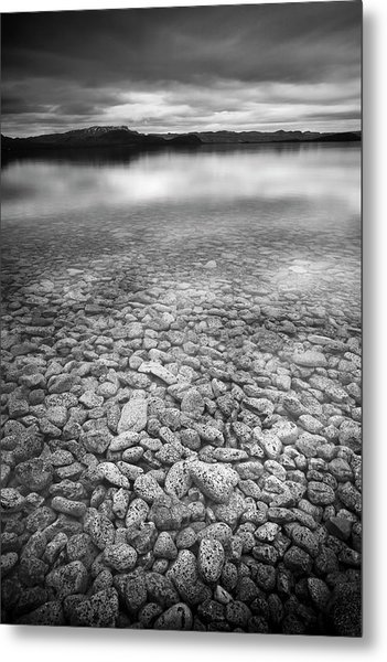 Lake Thingvallavatn Iceland Metal Print
