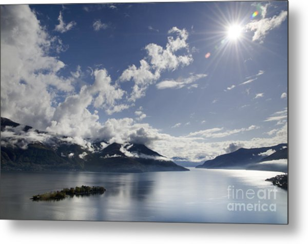 Lake With Islands Metal Print