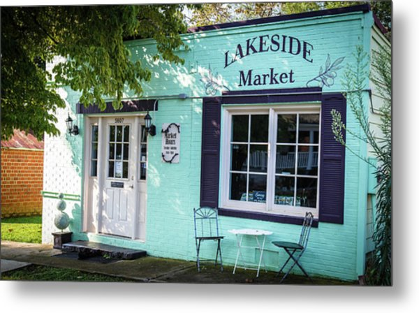 Metal Print featuring the photograph Lakeside Market by Doug Camara