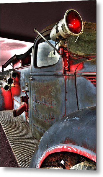 Lakewood Mountair Fire Dept.  Metal Print
