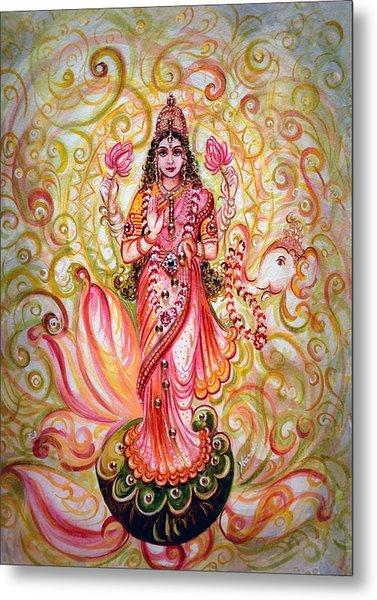 Lakshmi Darshanam Metal Print