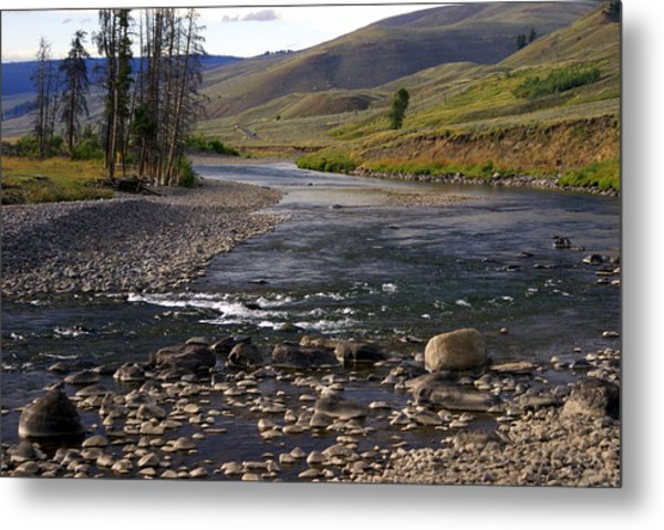 Lamar Valley 3 Metal Print