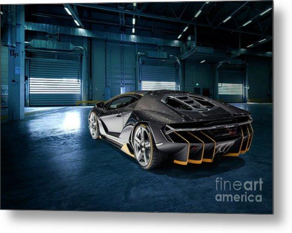 Lamborghini Centenario Lp 770-4 Metal Print