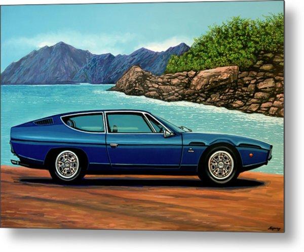 Lamborghini Espada 1968 Painting Metal Print