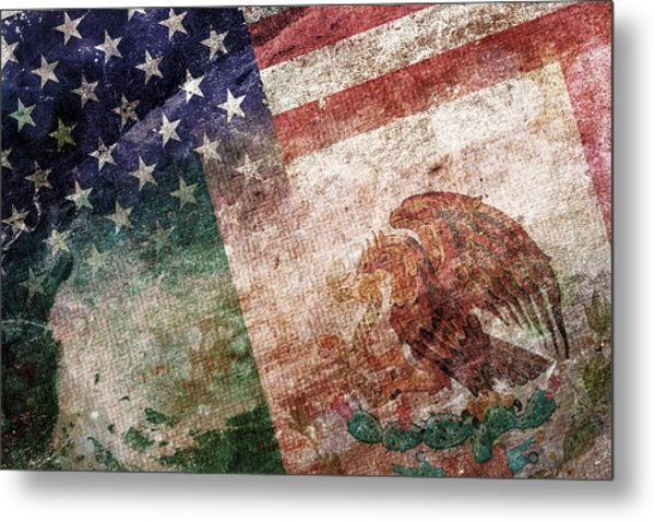 Land Of Opportunity Metal Print