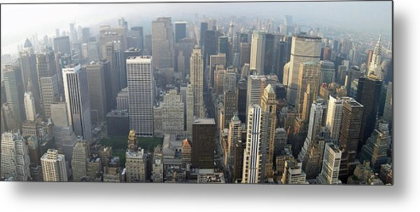 Land Of Skyscapers Metal Print