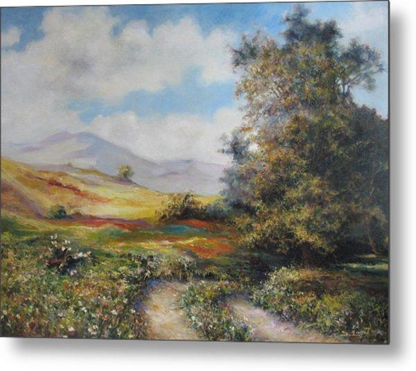 Landscape In Dilijan Metal Print