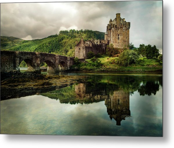 Landscape With An Old Castle Metal Print