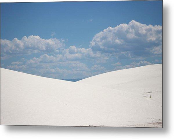 Landscapes Of White Sands 11 Metal Print