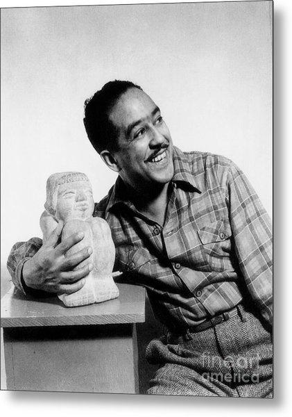 Langston Hughes Metal Print