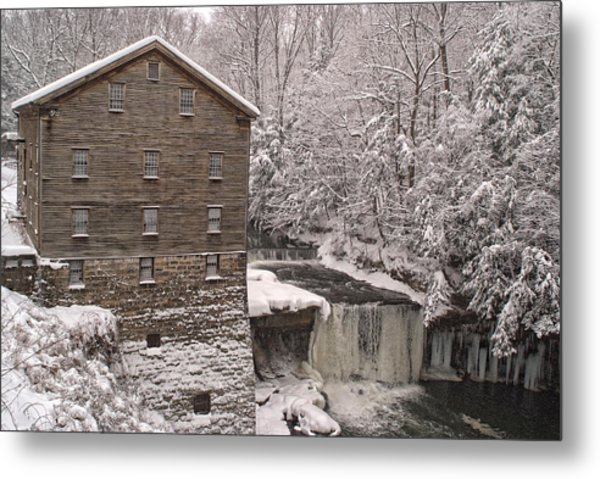 Lanterman's Mill Metal Print