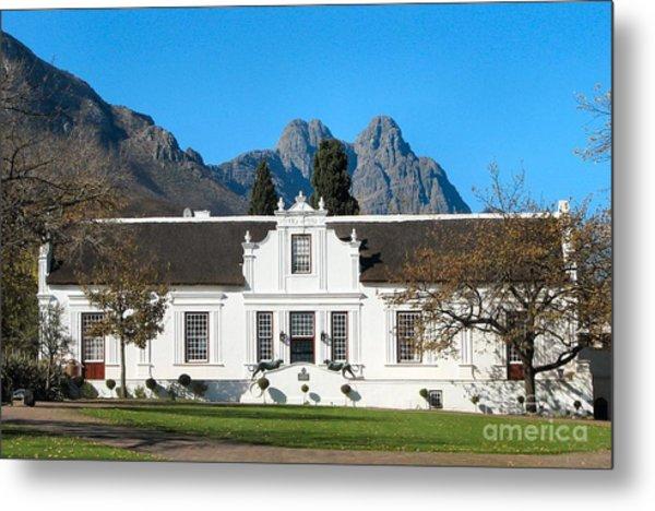 Lanzerac Stellenbosch Metal Print by Heather Nel