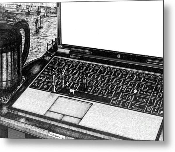 Laptop Metal Print