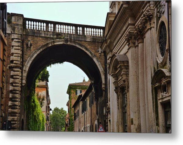 L'arco Farnese Metal Print by JAMART Photography