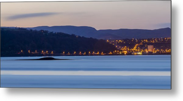 Larne From Magheramorne Metal Print