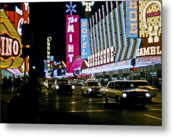 Las Vegas 1964  II Metal Print