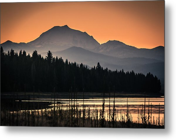 Lassen In Autumn Glory Metal Print