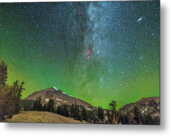 Lassen Nights Metal Print