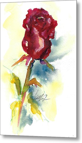 Last Rose Of Summer Metal Print