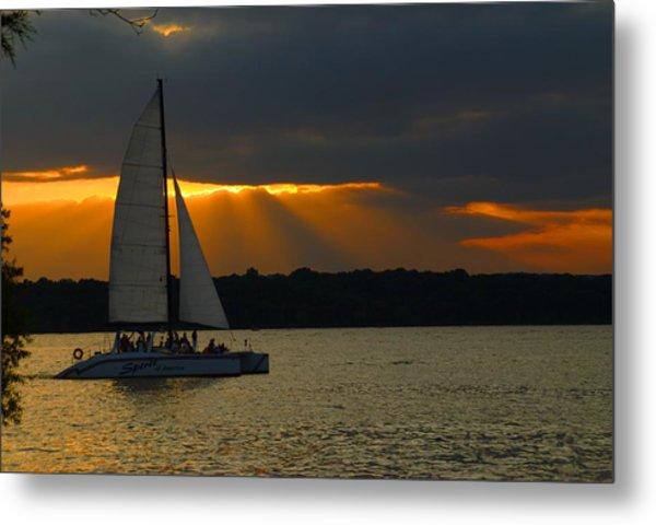 Last Sail Metal Print
