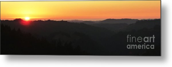 Last Sunset Before The Autumnal Equinox  Metal Print by JoAnn SkyWatcher