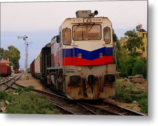 Last Train Home Metal Print by Don Prioleau