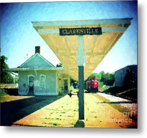 Last Train To Clarksville Metal Print
