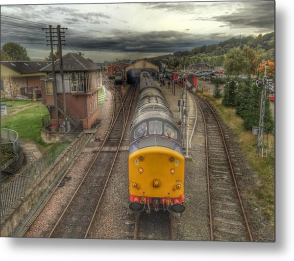 Last Train To Manuel Metal Print