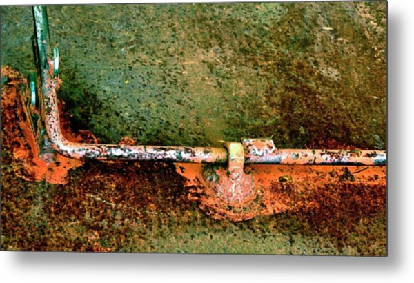 Latch 5 Metal Print