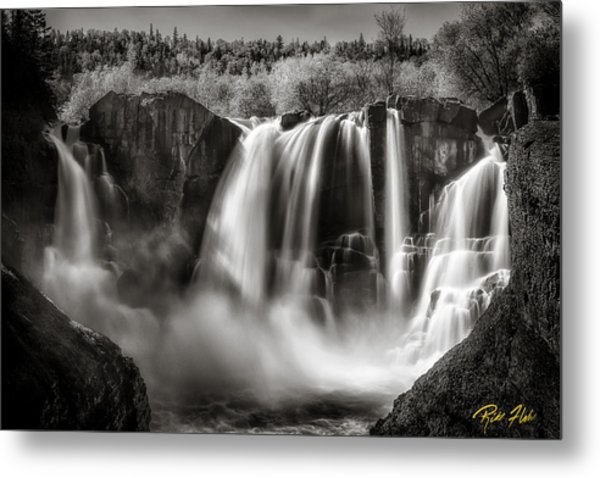 Late Afternoon At The High Falls Metal Print
