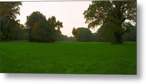 Late Afternoon In The Park Metal Print