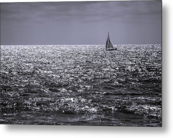 Late Afternoon Sailing Metal Print