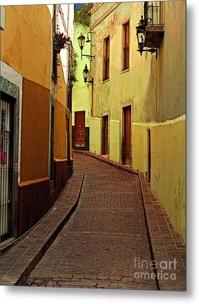 Late Golden Light Metal Print by Mexicolors Art Photography