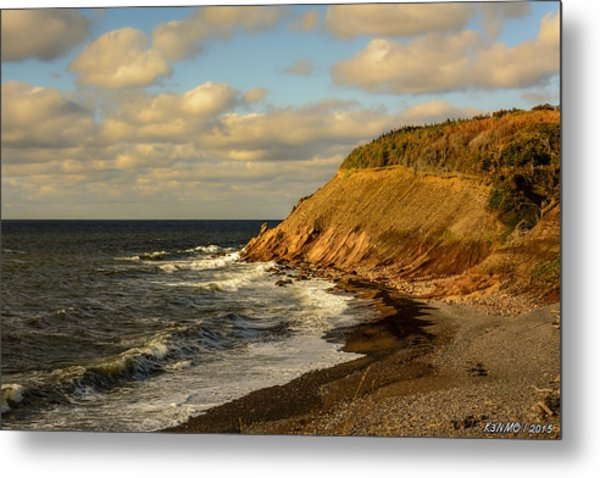 Late In The Day In Cheticamp Metal Print