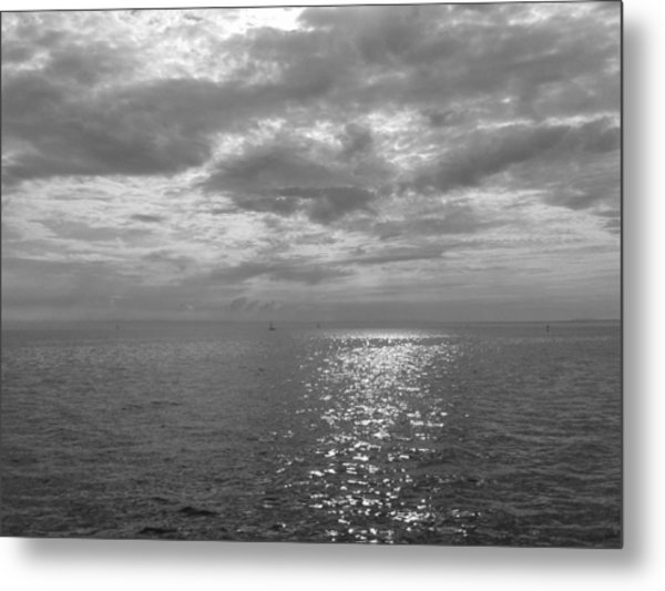 Immensity With Light Metal Print