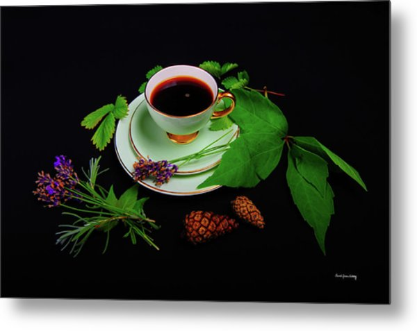 Late Summer Coffee Metal Print