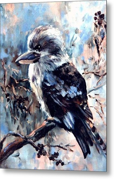 Laughing Kookaburra Metal Print