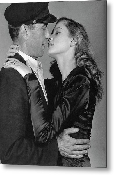Lauren Bacall Humphrey Bogart To Have And Have Not 1944 Metal Print