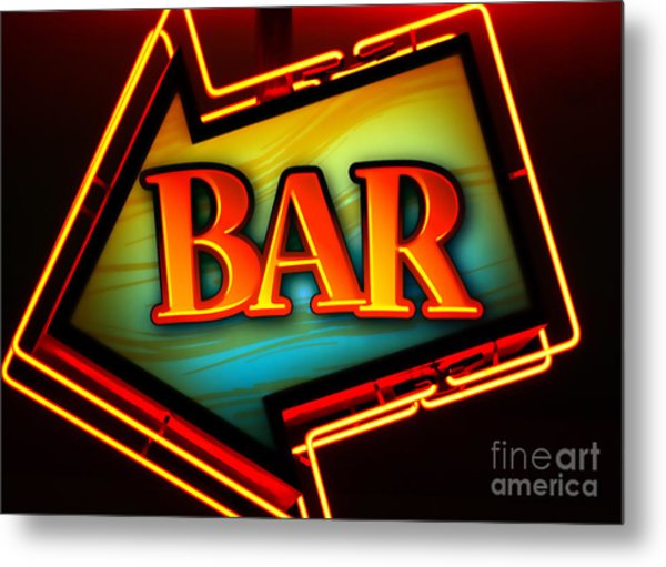 Laurettes Bar Metal Print