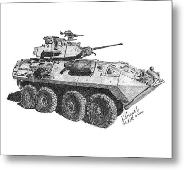 Lav-25 Metal Print
