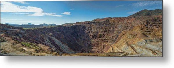 Metal Print featuring the photograph Lavender Pit Mine by Dan McManus