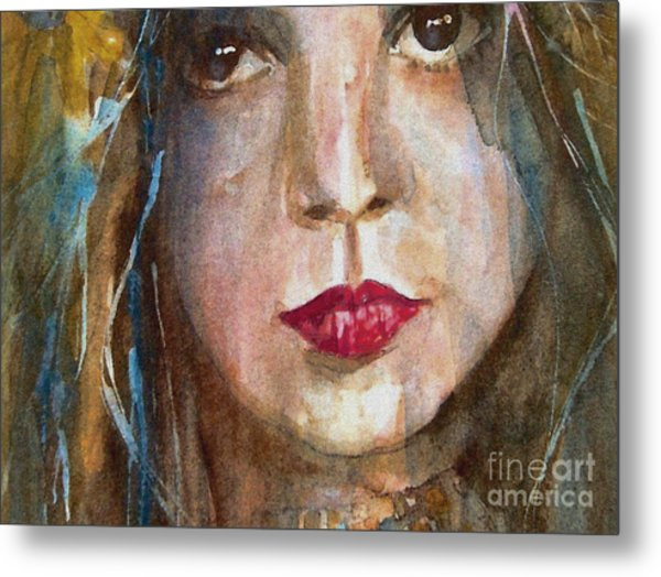 Lay Lady Lay Metal Print