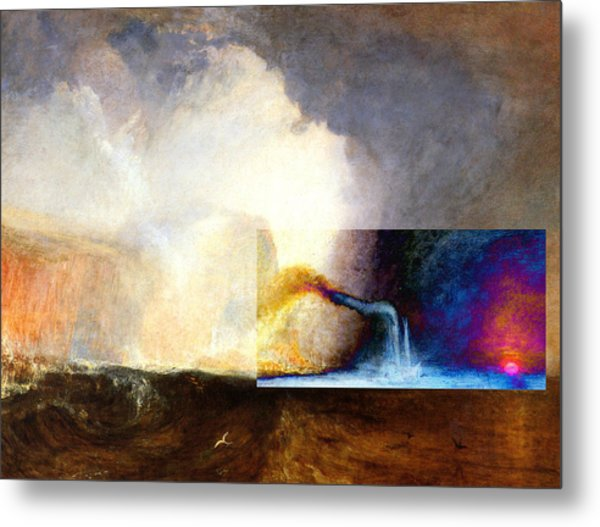 Layered 1 Turner Metal Print