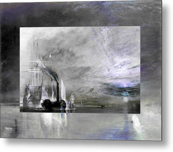 Layered 11 Turner Metal Print