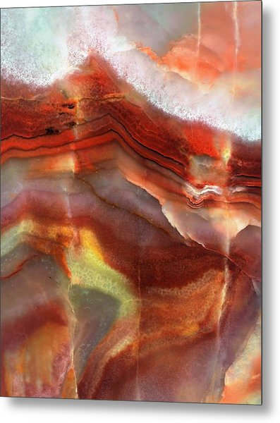 Layers Of Expansion Metal Print