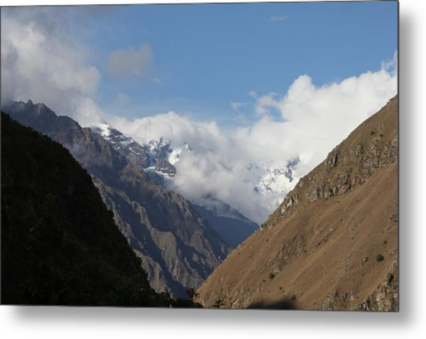Layers Of Mountains Metal Print