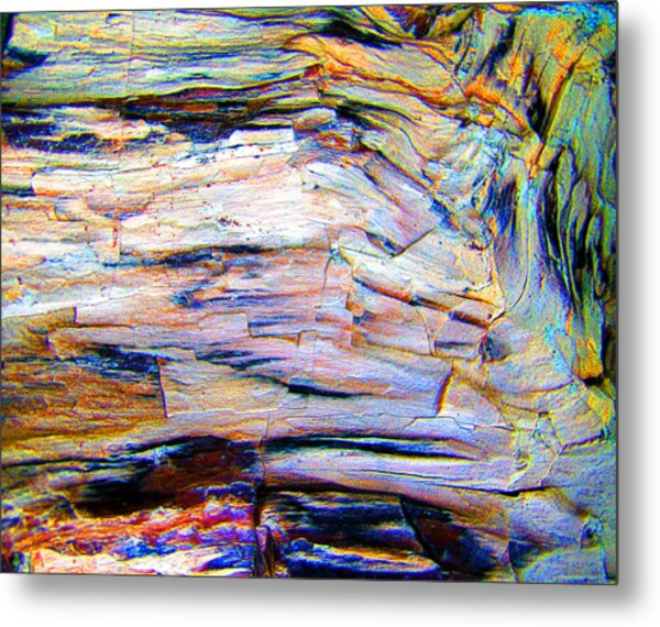 Layers Of Mystery Metal Print by Nicole I Hamilton