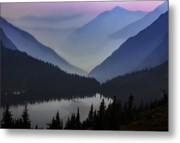 Layers Of Serenity Metal Print
